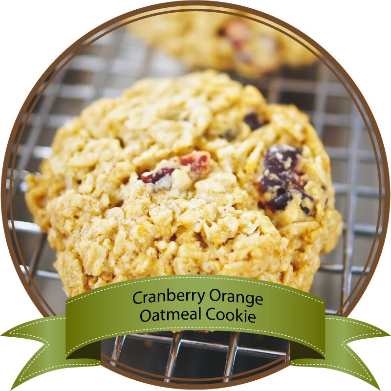Cranberry Orange Oatmeal Cookie by Sam Henderson of Today's Nest