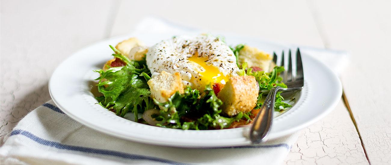 Lyonnaise Salad by Sam Henderson of Today's Nest