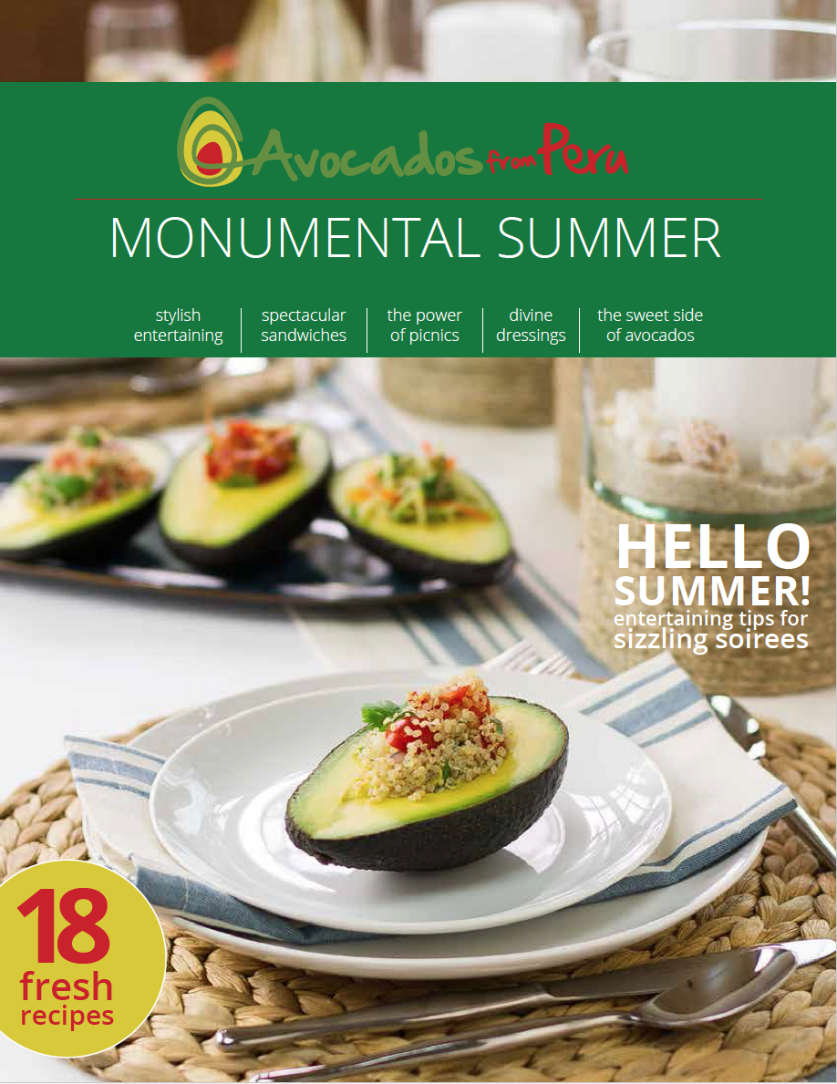 Avocados from Peru eBook by Sam Henderson of Savour Imagery.