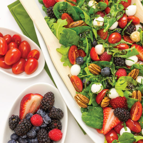 Berry Caprese Salad by Sam Henderson of Today's Nest