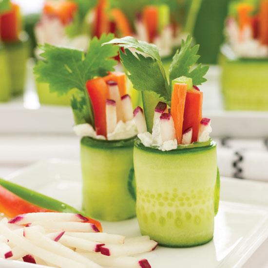 Veggie 'Sushi' with Radish Ministicks by Sam Henderson of Today's Nest