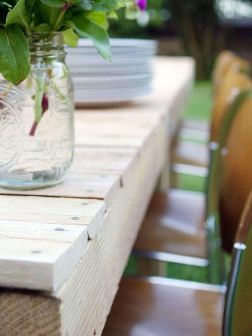 Pallet Farm Table