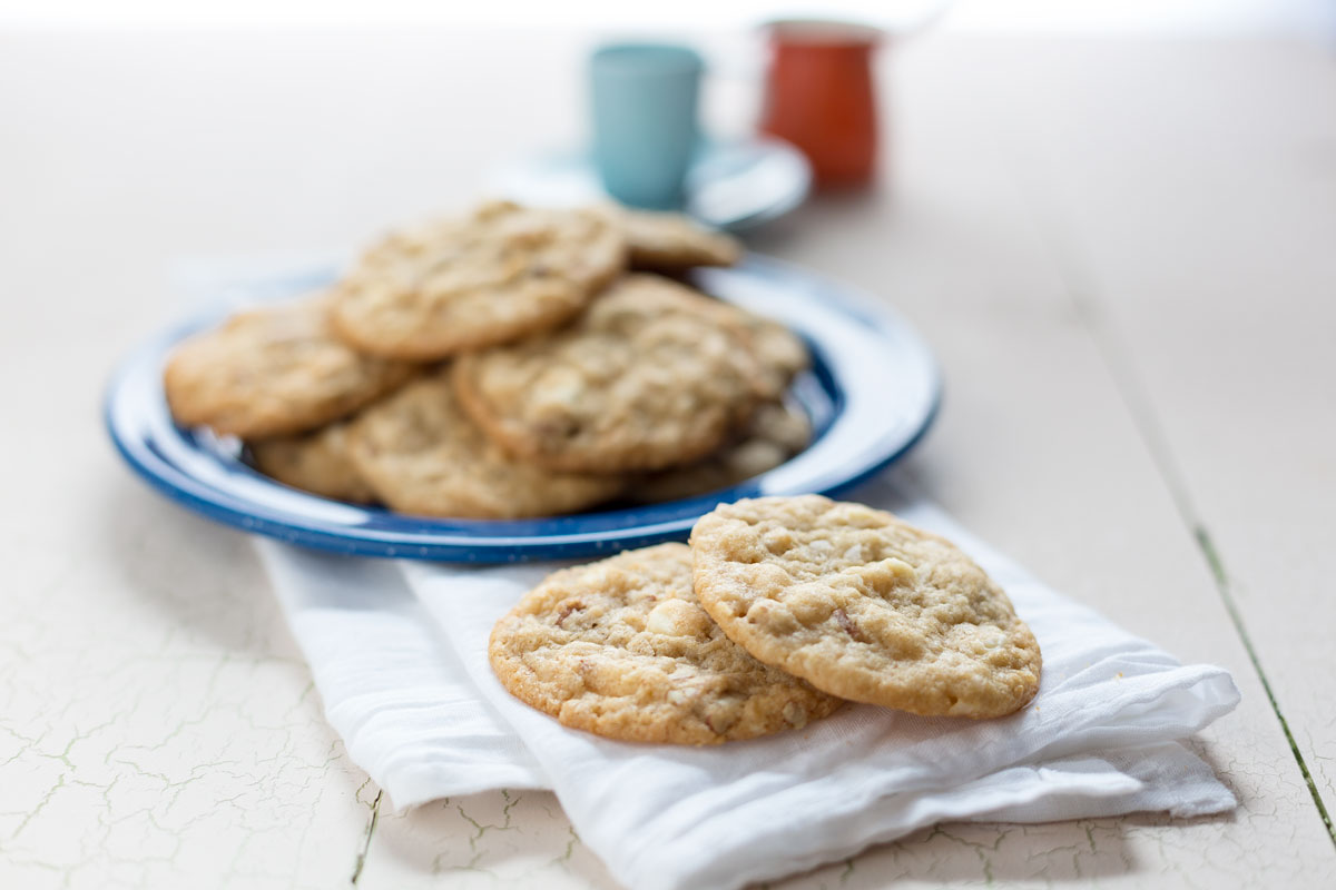 White Chocolate Pecan Cookies by Sam Henderson of Today's Nest