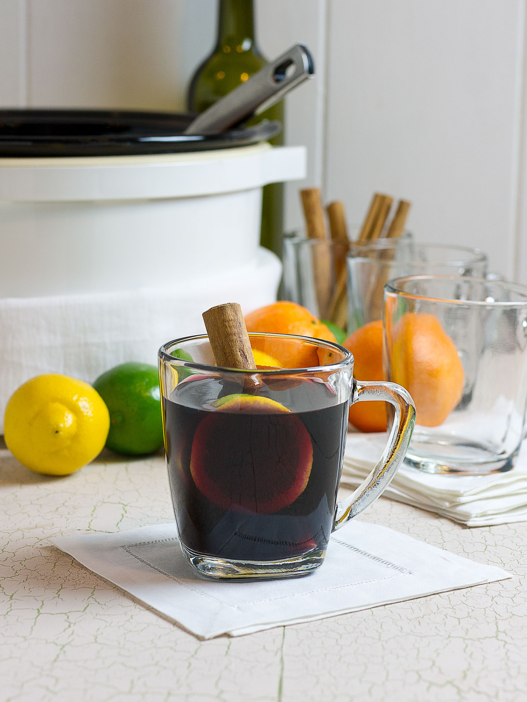 Slow Cooker Winter Sangria by Sam Henderson of Today's Nest for HGTV.