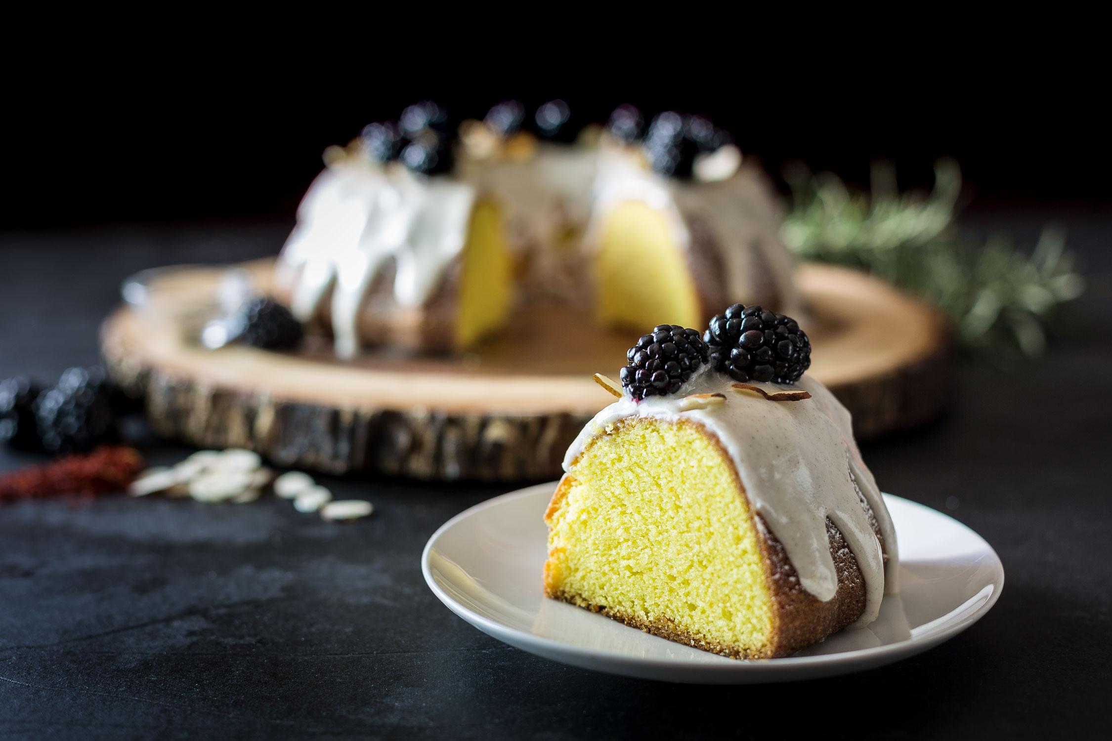 Saffron Bundt Cake with Cardamom Glaze by Sam Henderson of Today's Nest