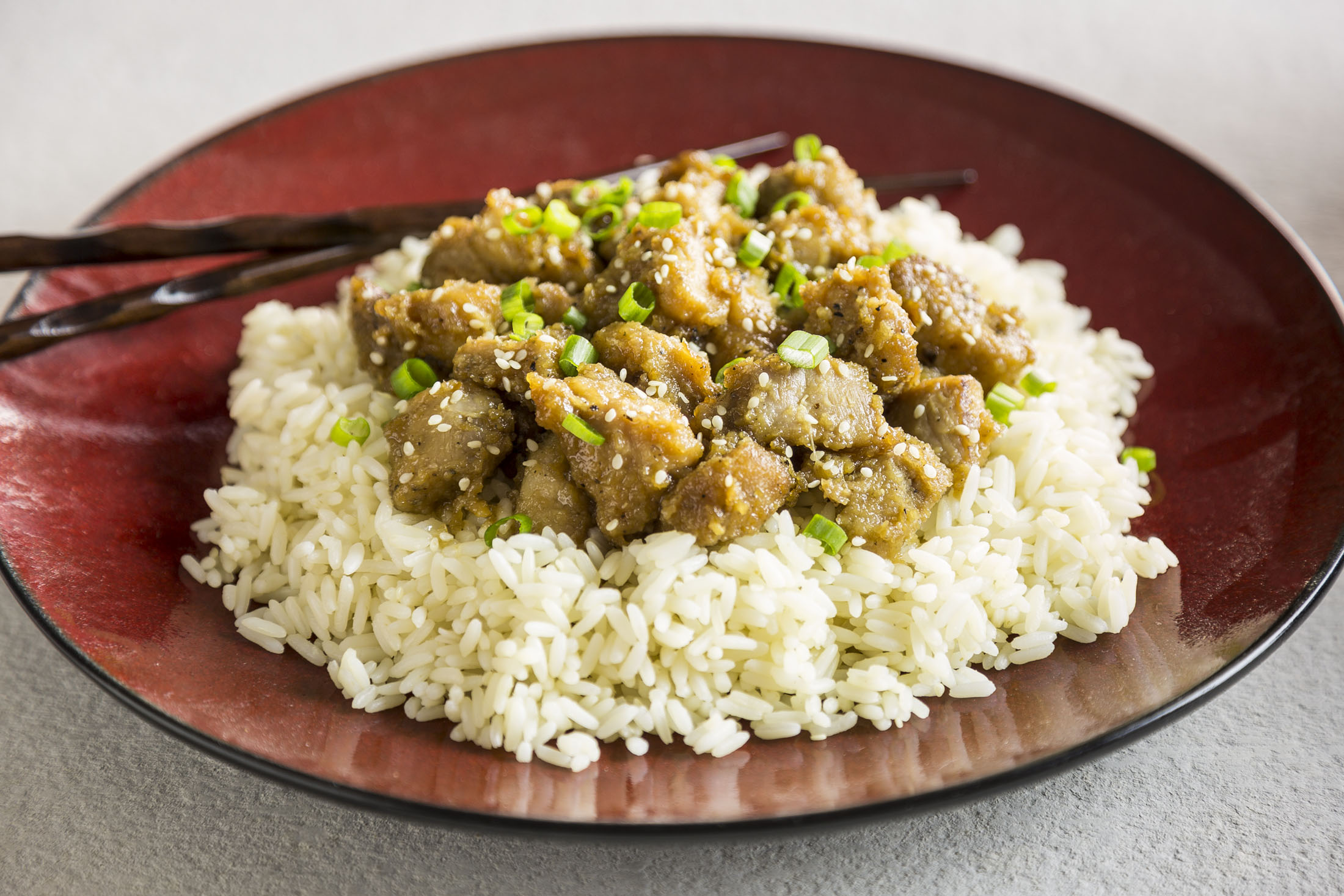 Slow Cooker Asian Ginger Garlic Chicken by Sam Henderson of Today's Nest