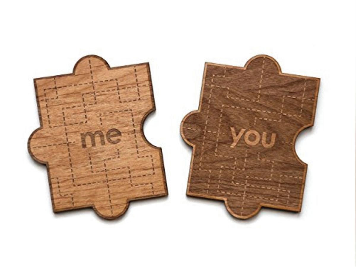 YOU & ME PUZZLE PIECES