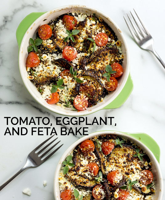 tomato, eggplant, and feta bake by Sam Henderson of Today's Nest