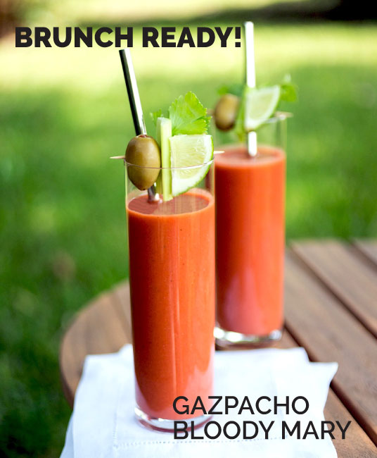 Gazpacho Bloody Mary by Sam Henderson of Today's Nest