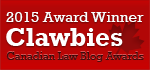 Best New Blog Award
