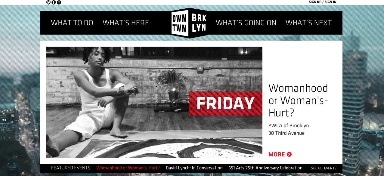 Womanhood or Woman's-Hurt?: The Art of Healing ft. on DowntownBrooklyn.com