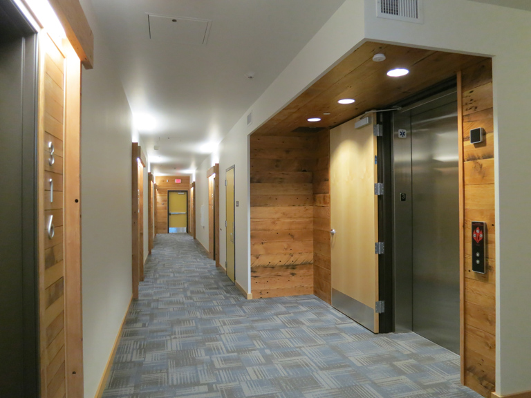 Central Eastside Lofts - Elevator Lobby