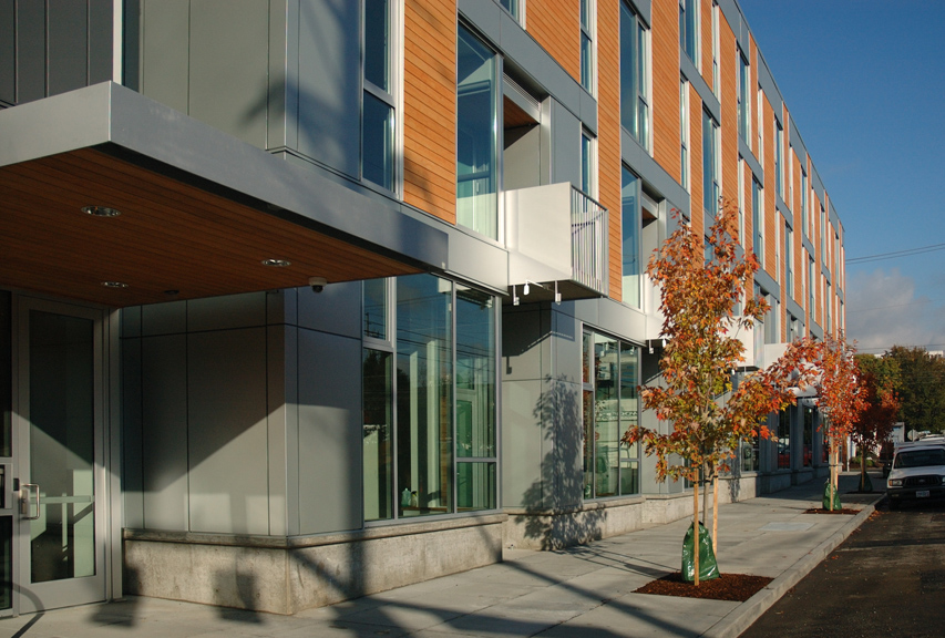 Central Eastside Lofts - residential entry