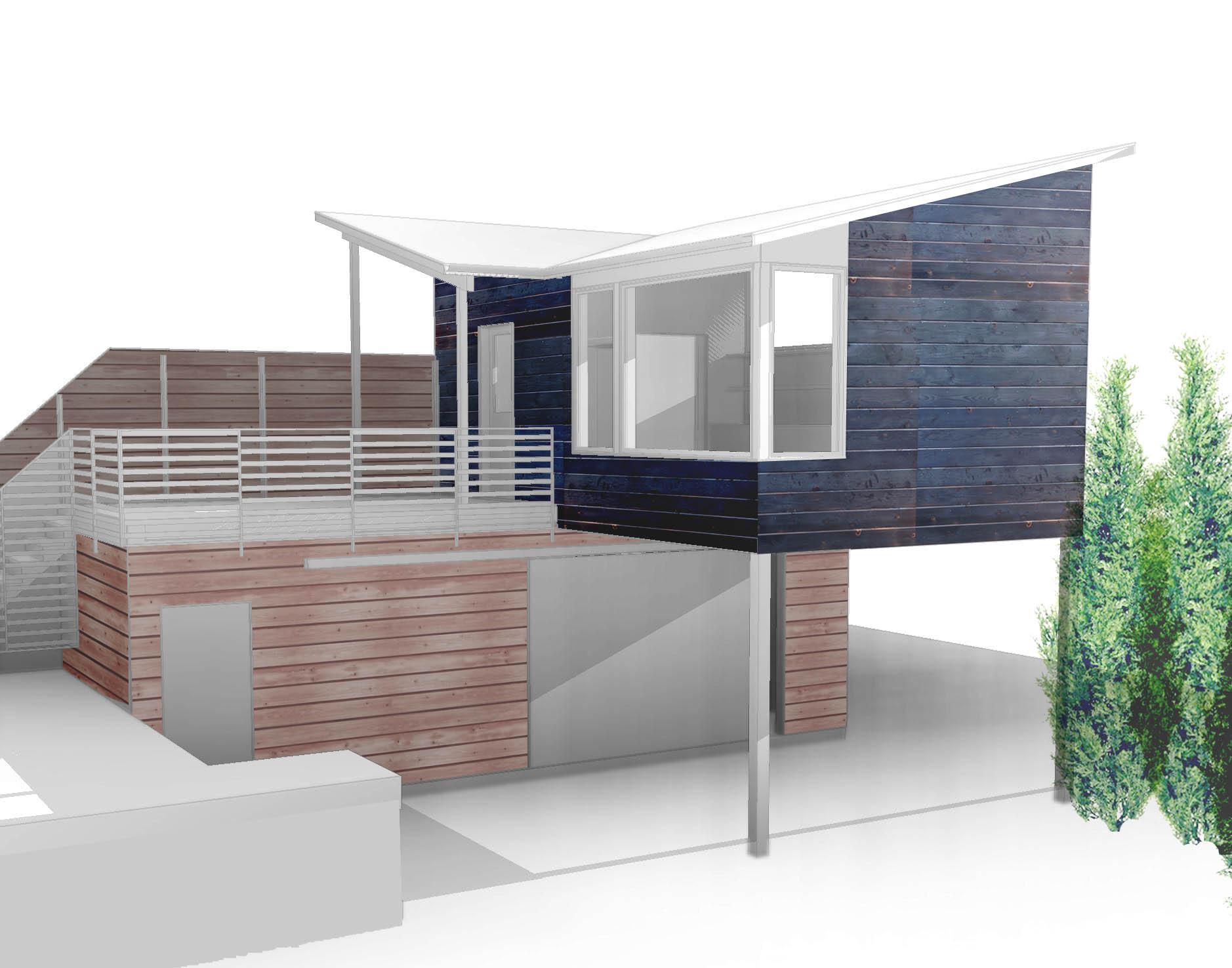 Gladstone studio and workshop_portland, or - exterior