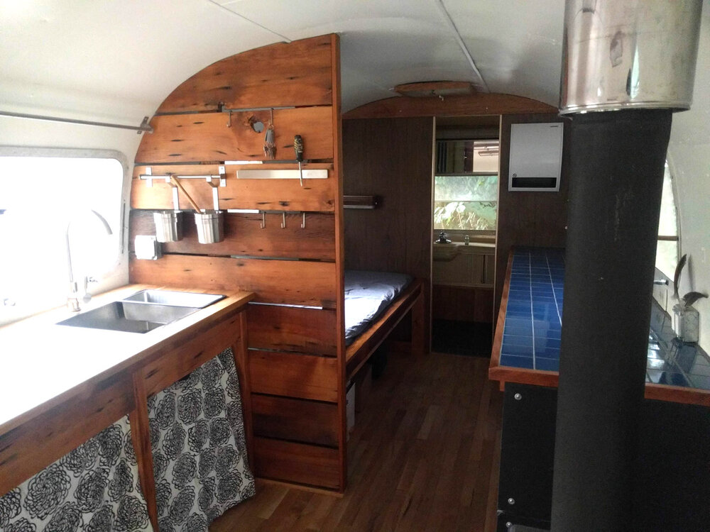 Airstream Remodel Polyphon Architecture Design Llc A