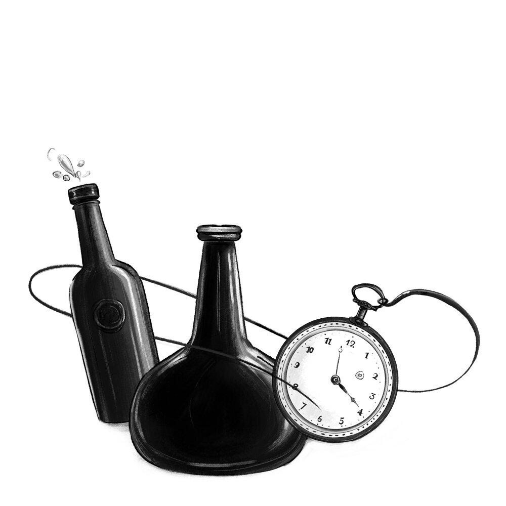 Ann-Wilson_watch+Alcohol-Bottles.jpg