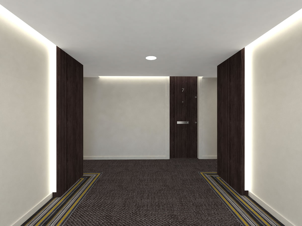 Entrance lobby B