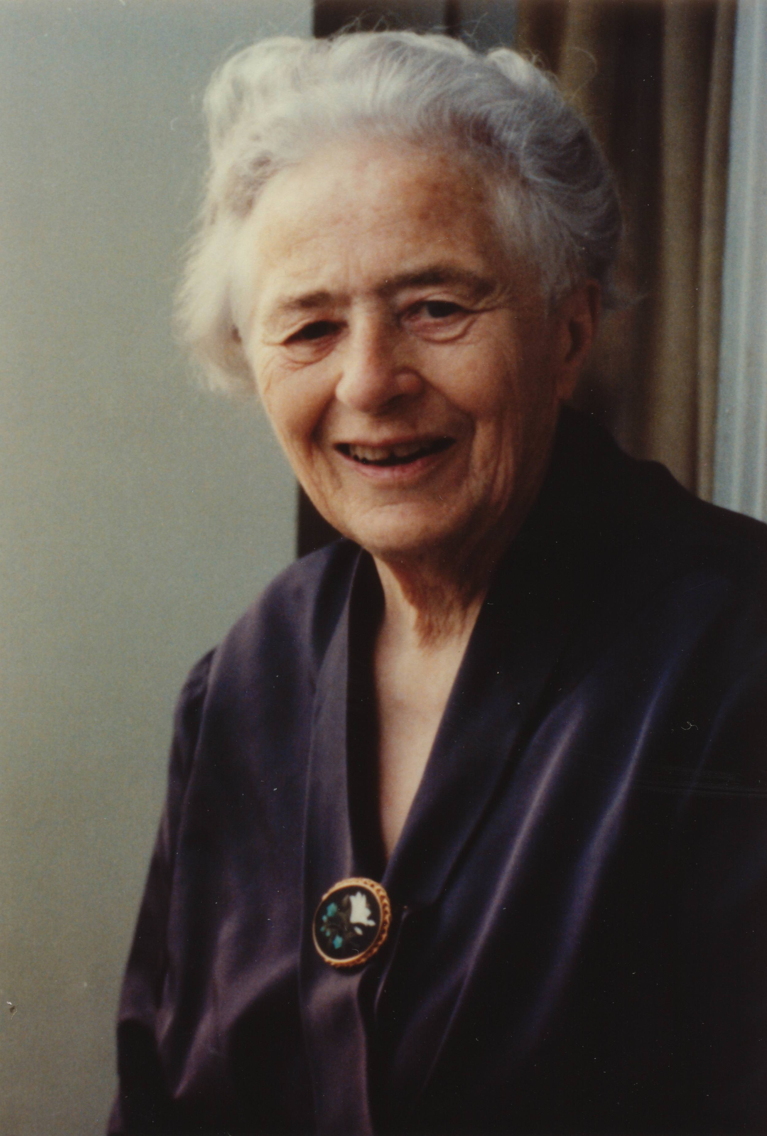 Frau Helene Nabholz 1987