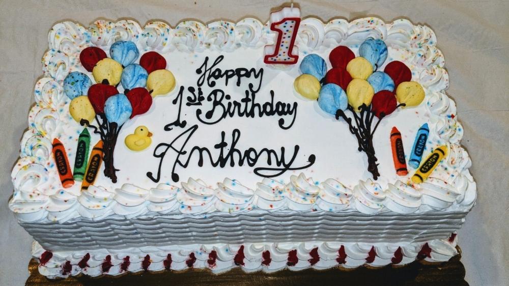 Birthday Cakes — Rudy's Pastry Shop