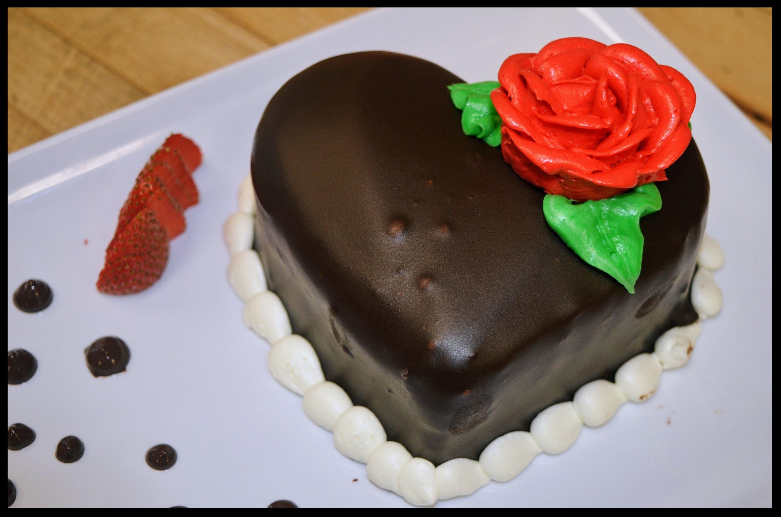 Valentine's Day Cake for 2! -