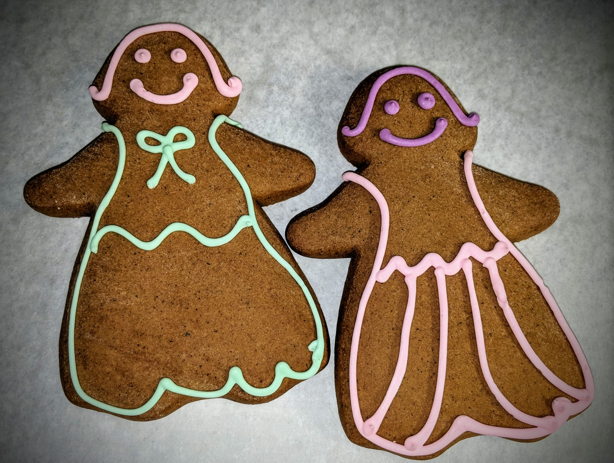 Gingerbread Ladies