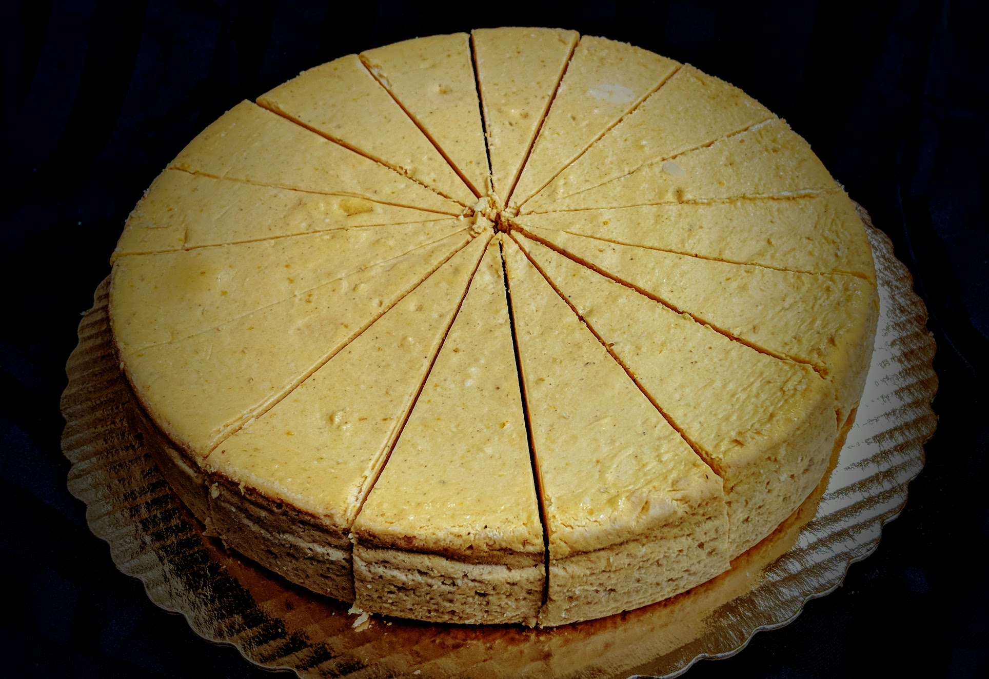 Pumpkin Cheesecake. great for the holidays and fundraisers!
