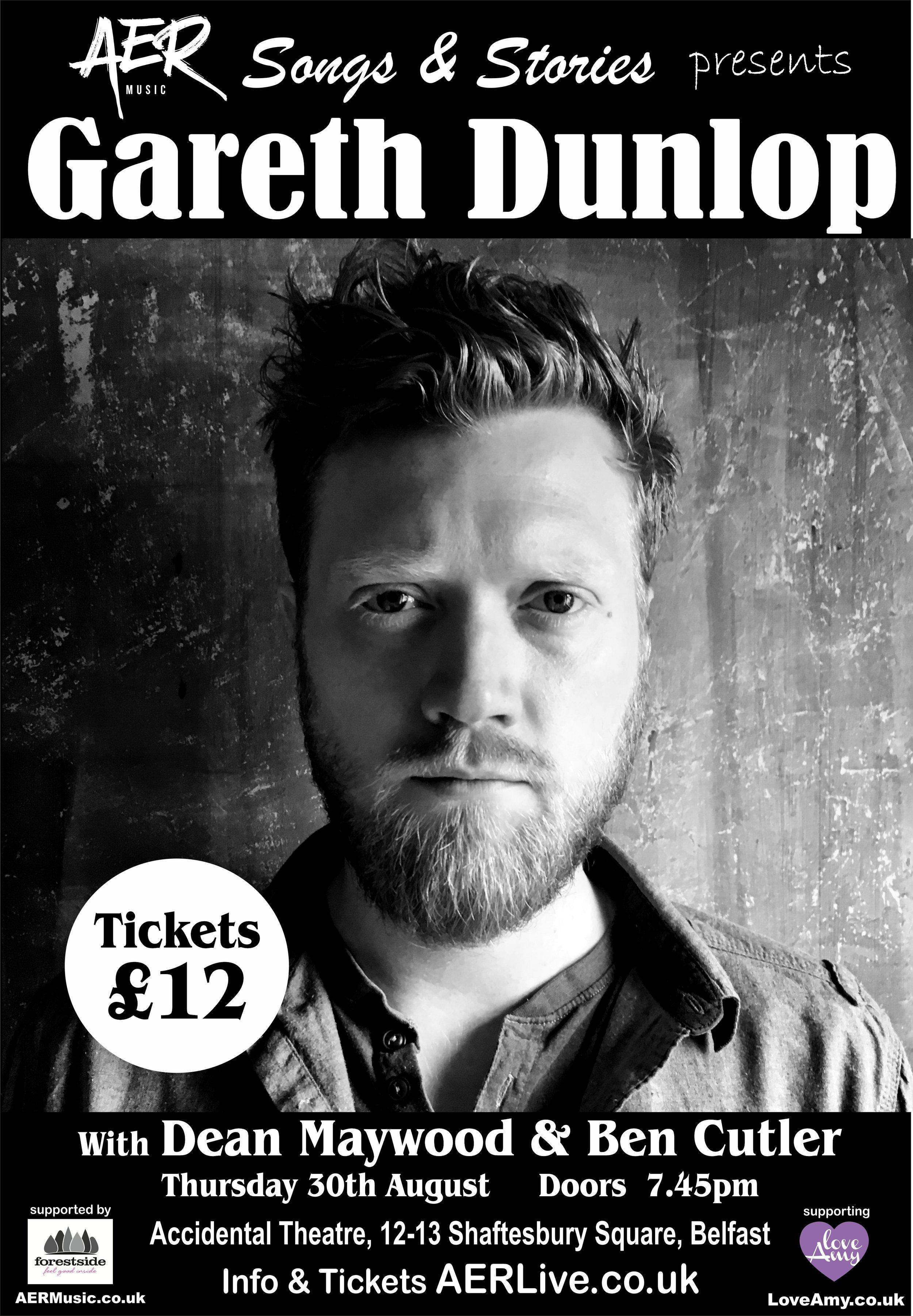 Gareth Dunlop - Thursday 30 August