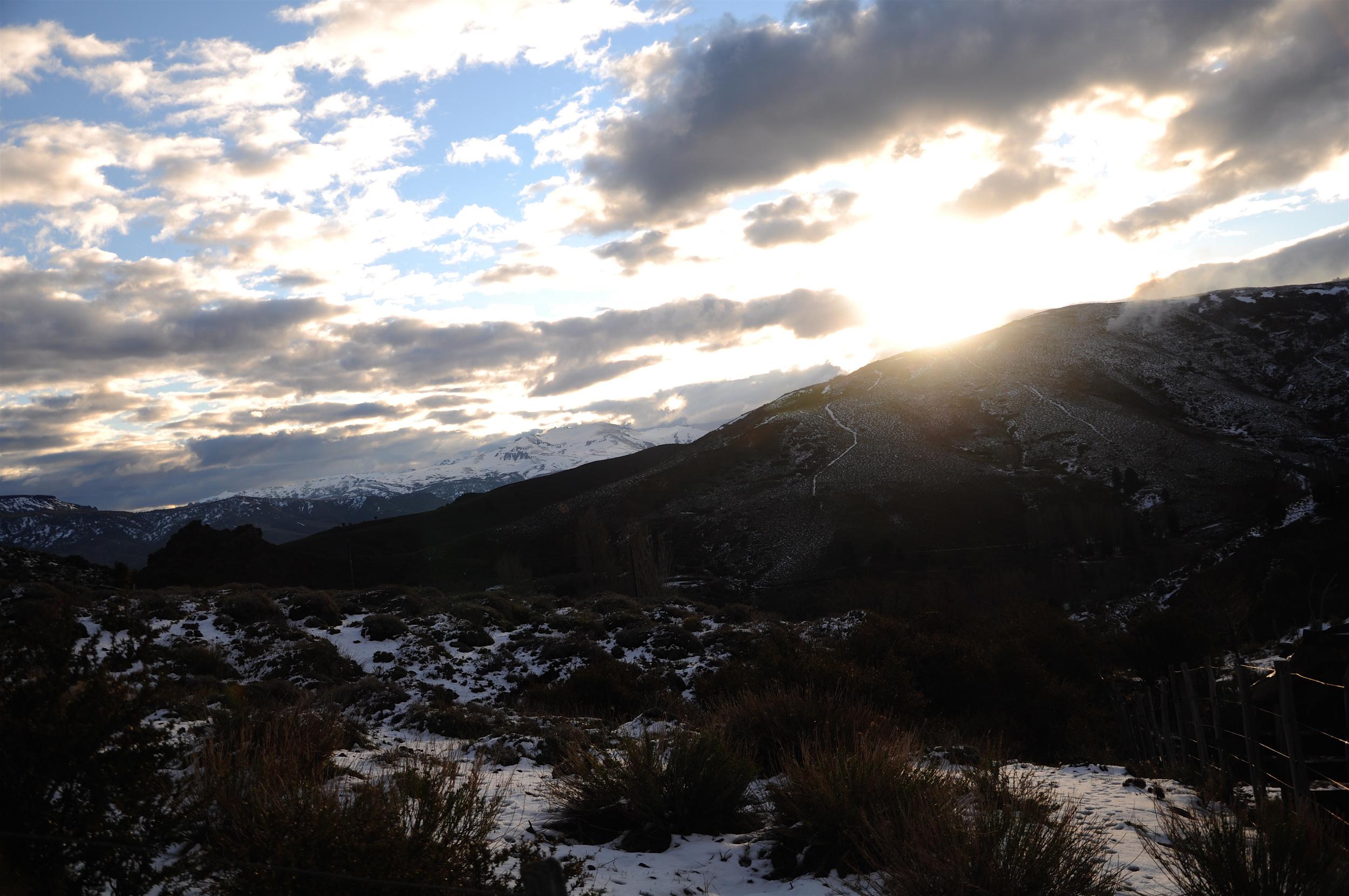 Sunset in Patagonia, Argentina