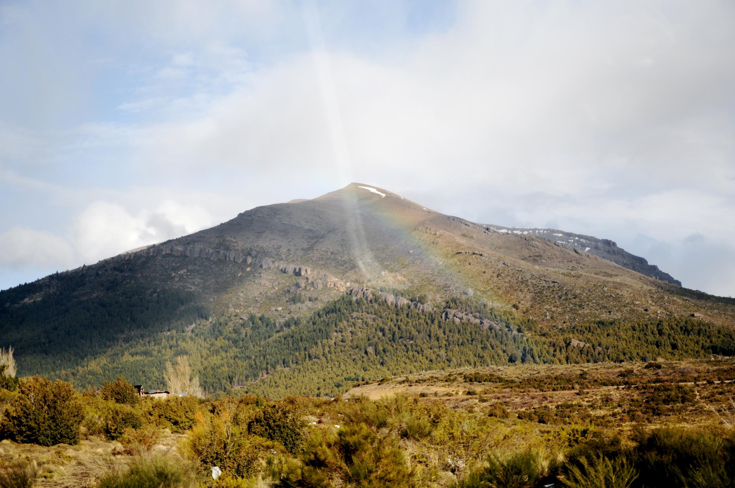 Rainbows in Patagonia