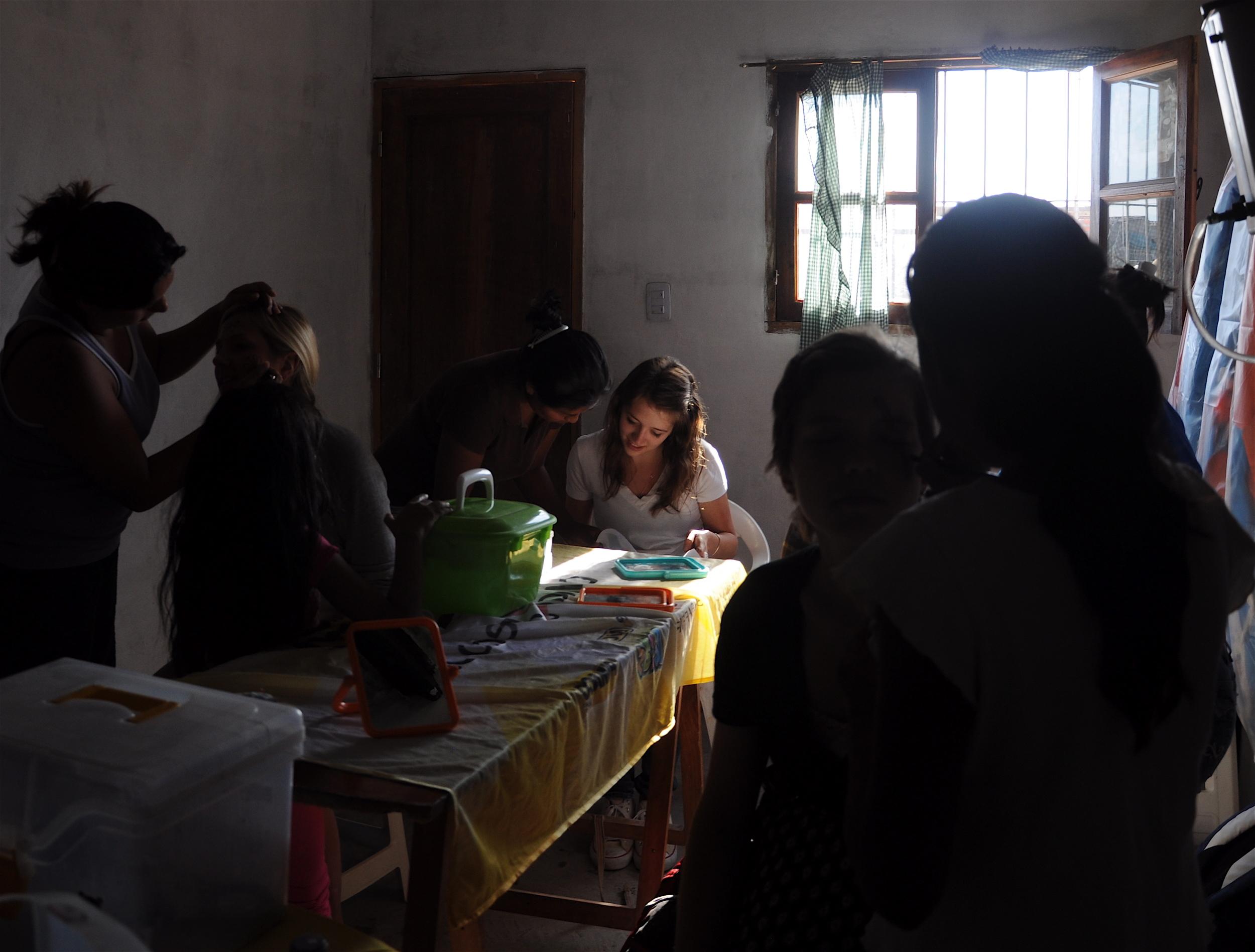 Preparing for the Quinceañera