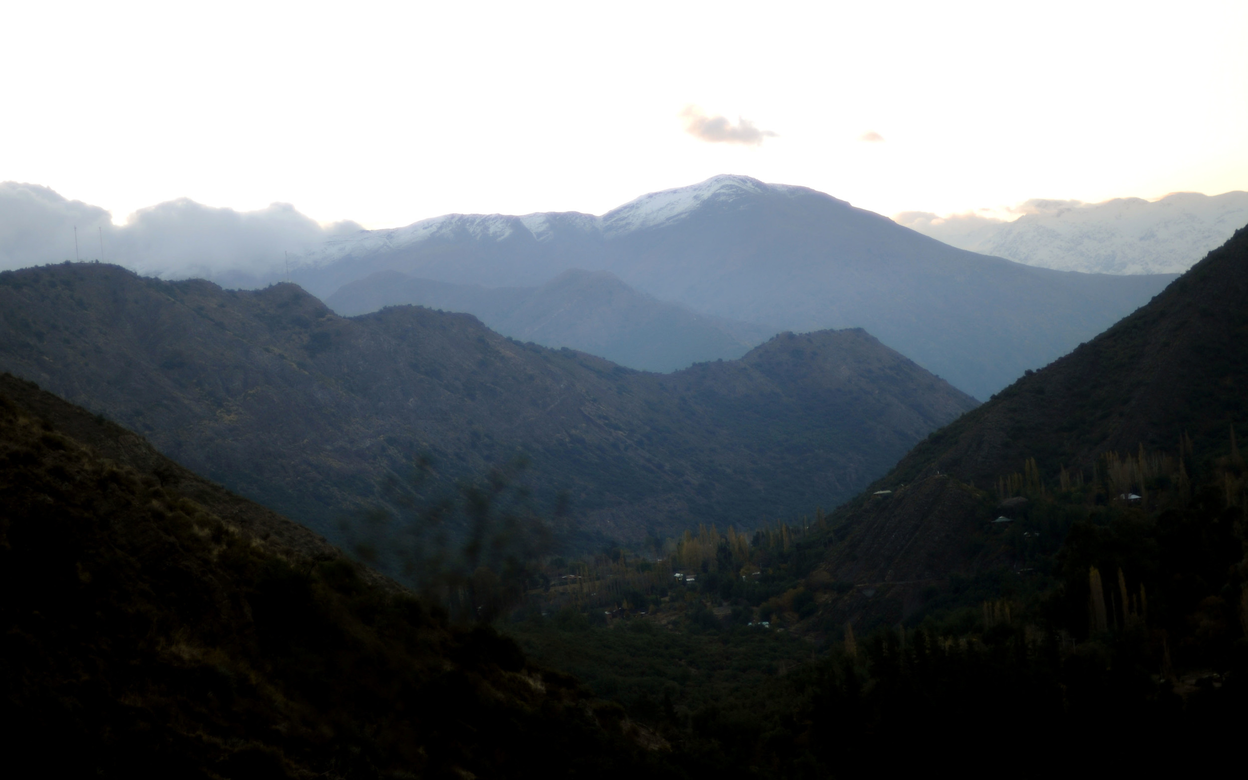 Across the Andes Mountains