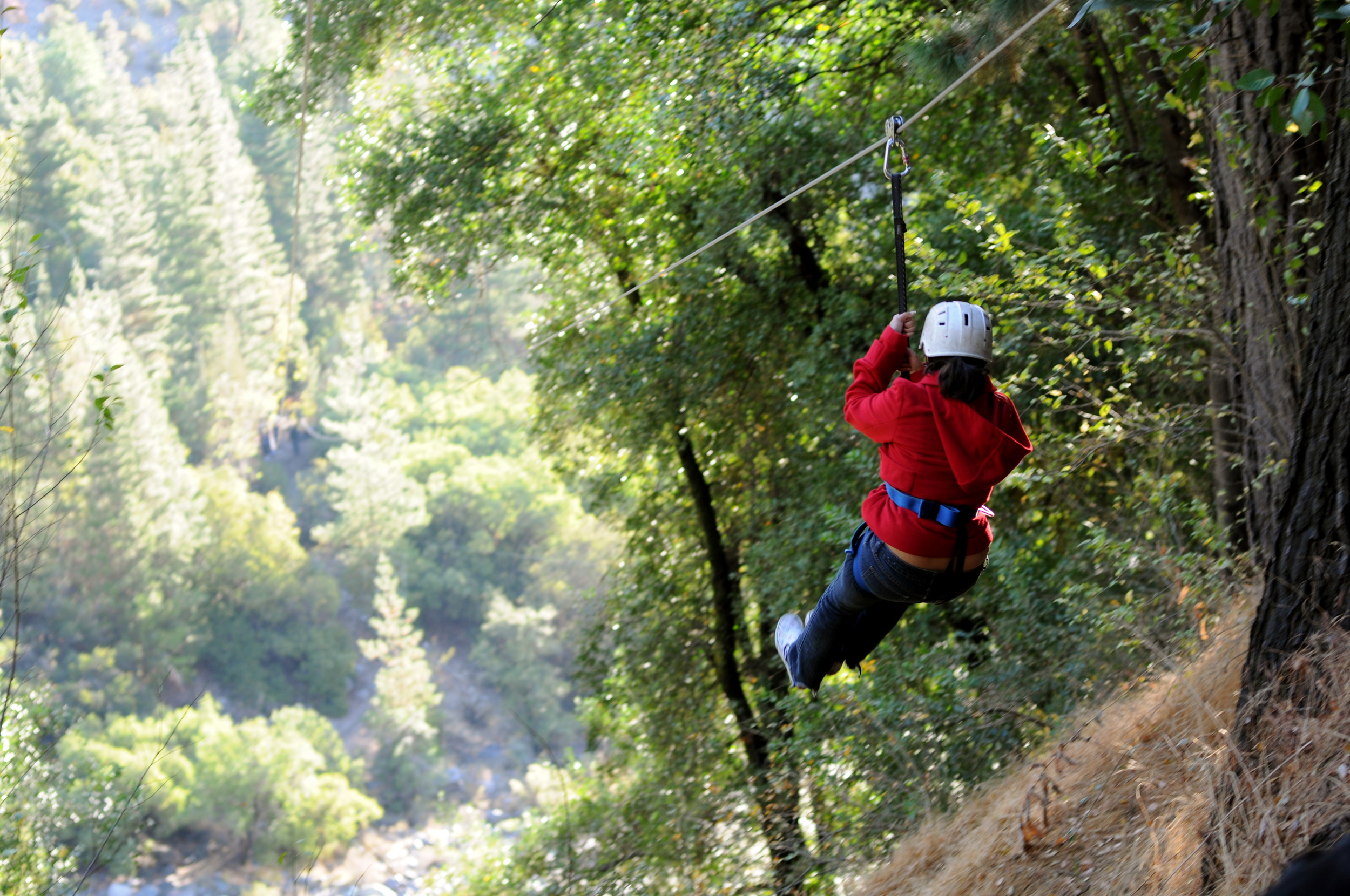 Ziplining Through the Andes