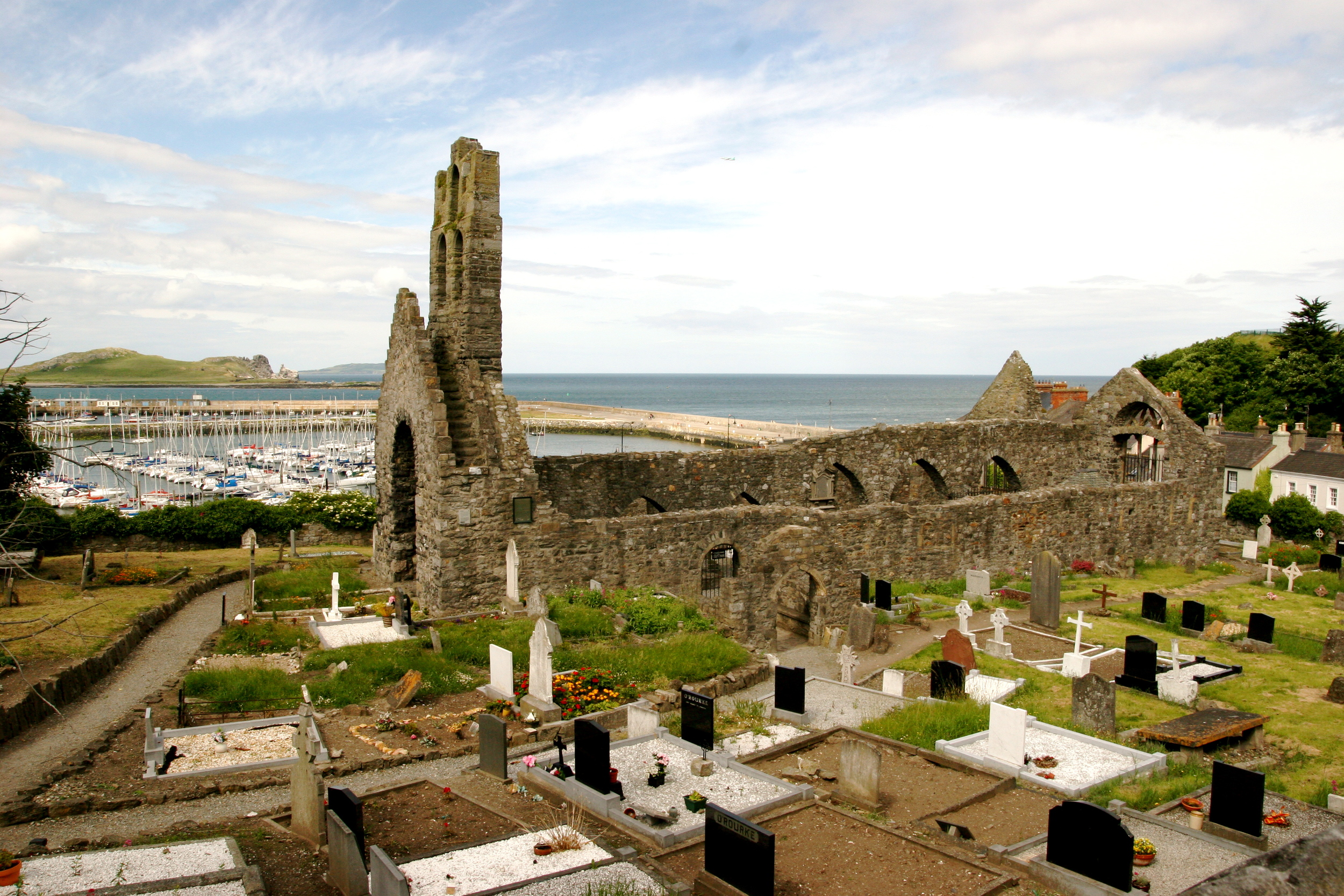 St. Mary's Cemetery in Howth, Ireland
