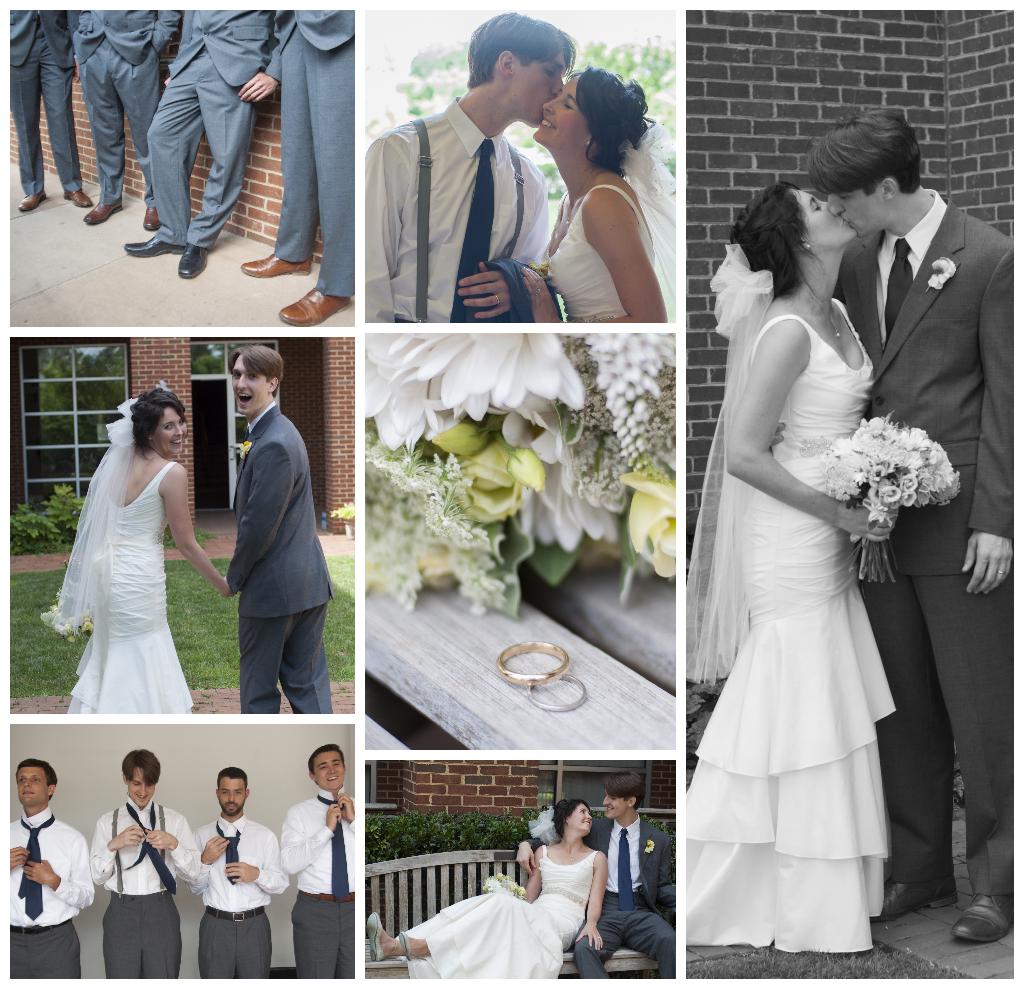 Britt and Mark Jordan were married on 6.29.14