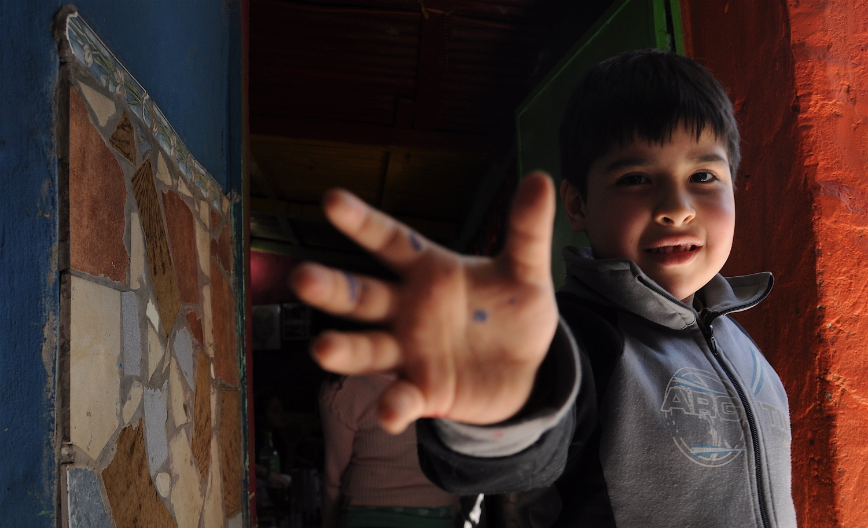 Children in the Slums of BA