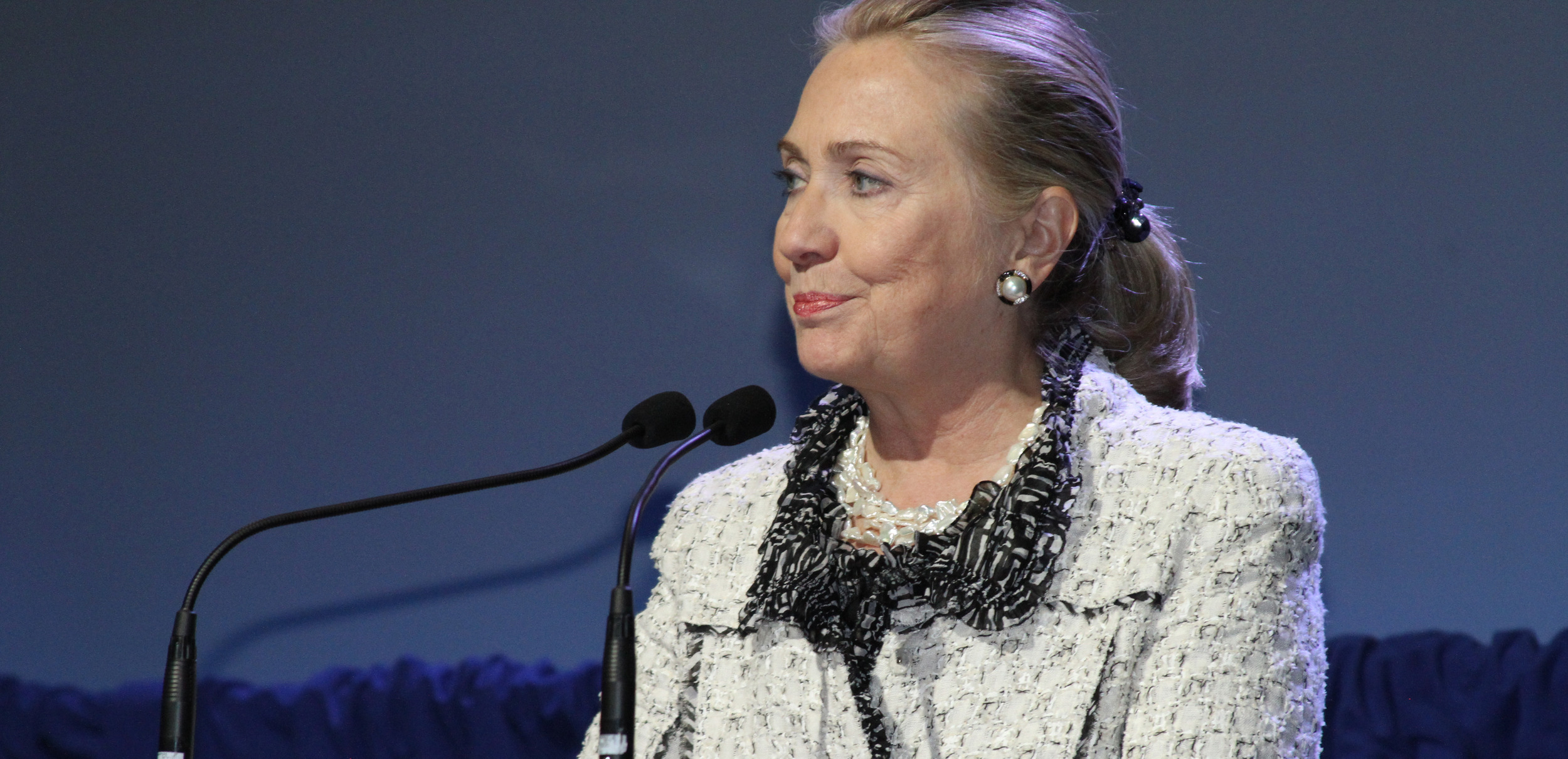 Hillary Clinton Addresses Health in Africa
