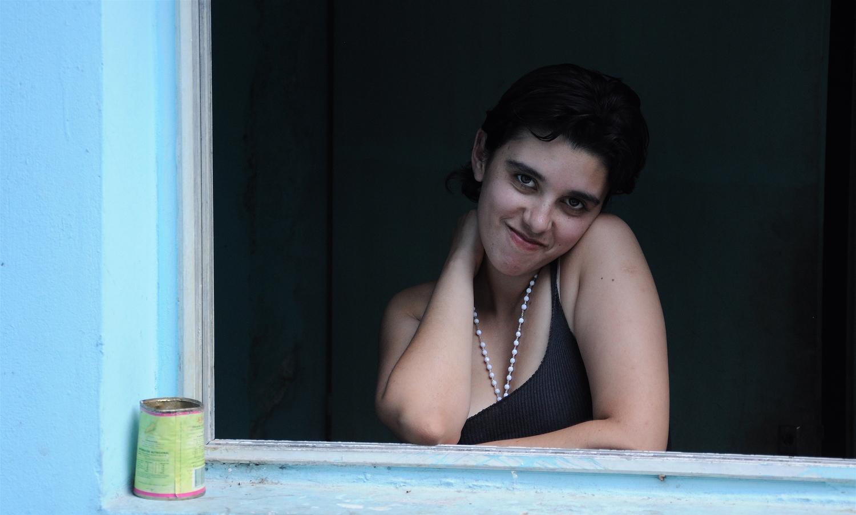 Nazarena Gazes out the Window