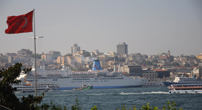 Crossing the Bosphorus