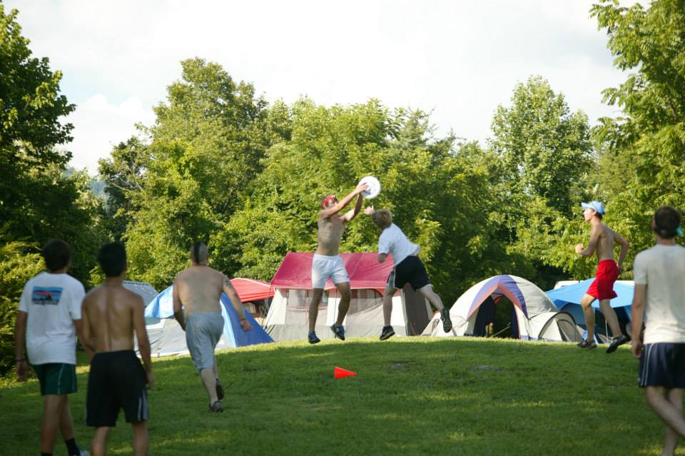 ultimate frisbee with tents.jpg