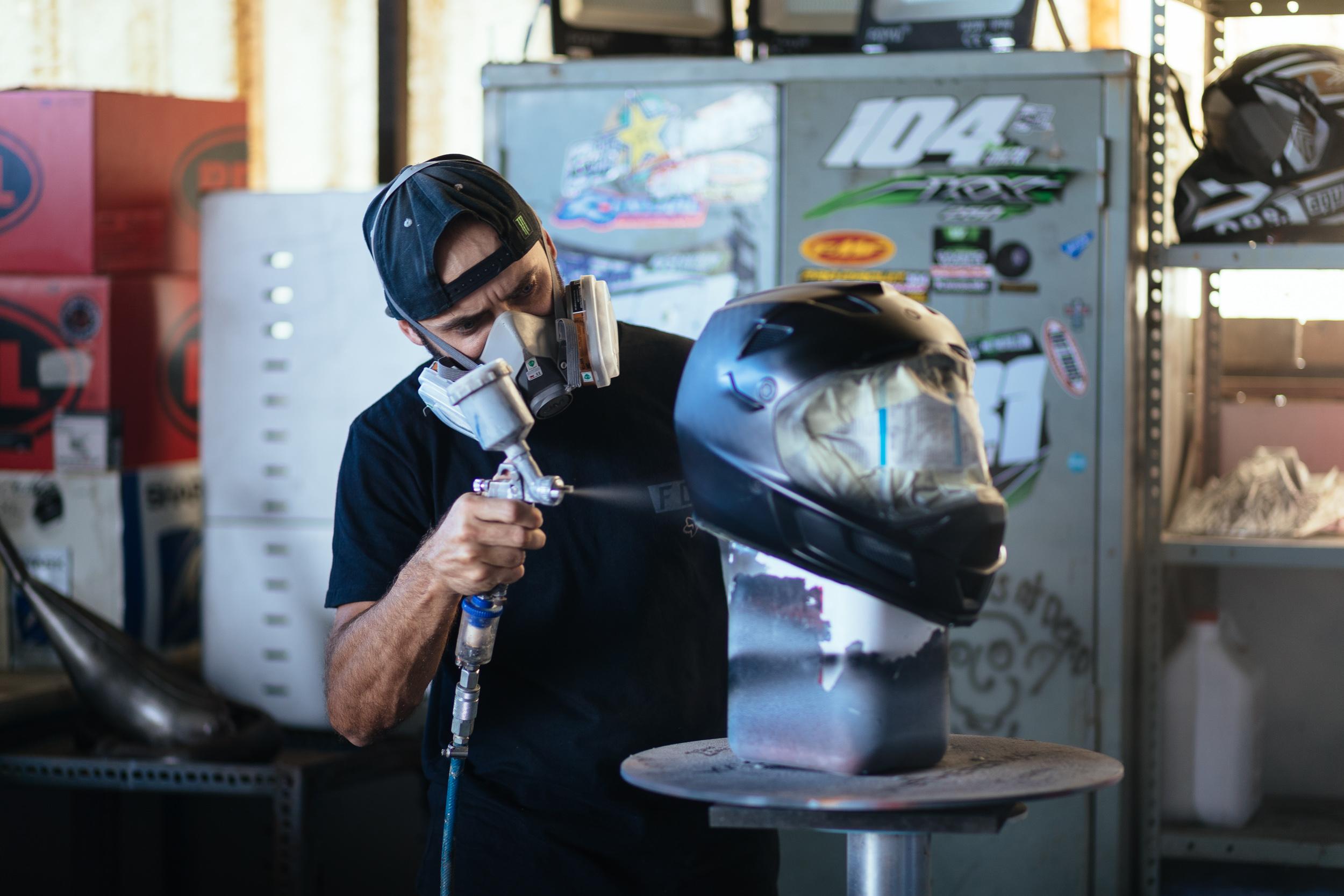 WETHERD DESIGNS - Helmet Painter