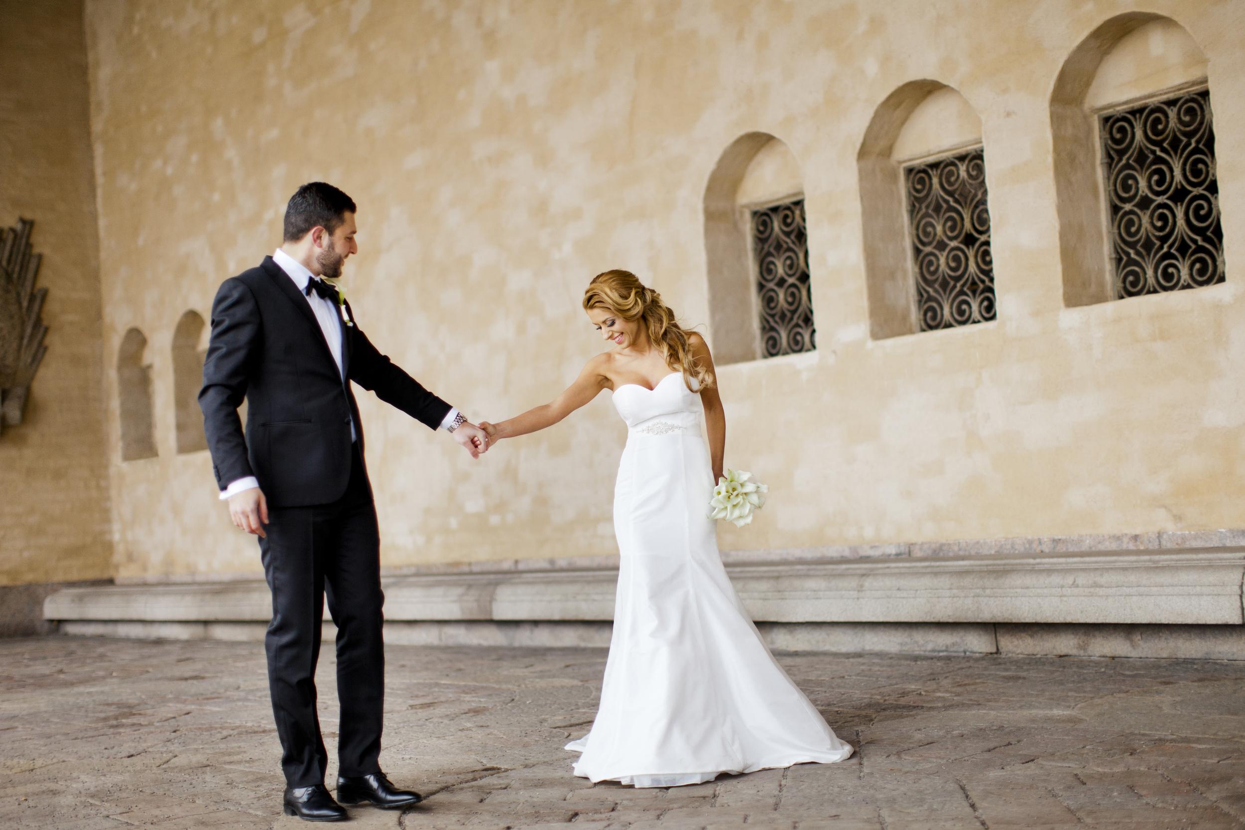 fotograf vid stadshusbröllop