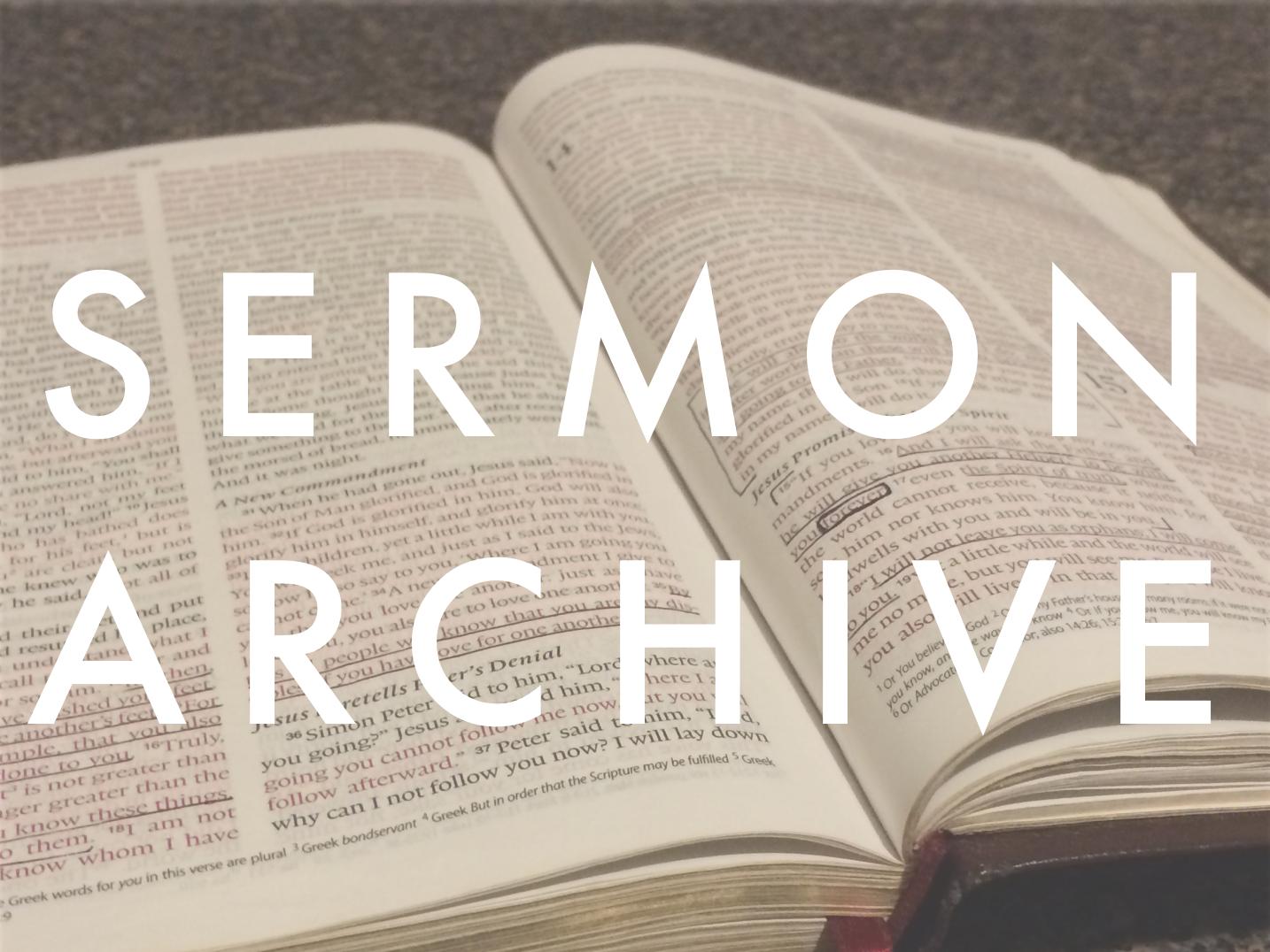 Sermon Archive.png