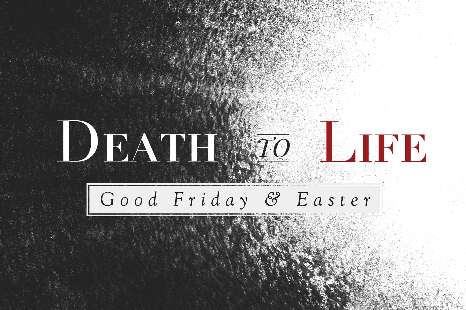 Sermons from our Good Friday and Easter services.