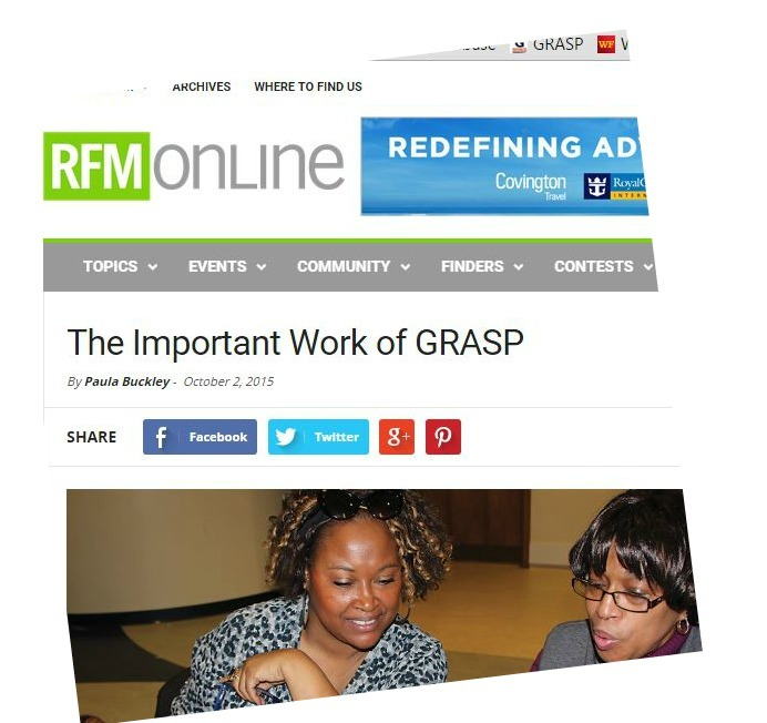 Richmond Family Magazine Features GRASP