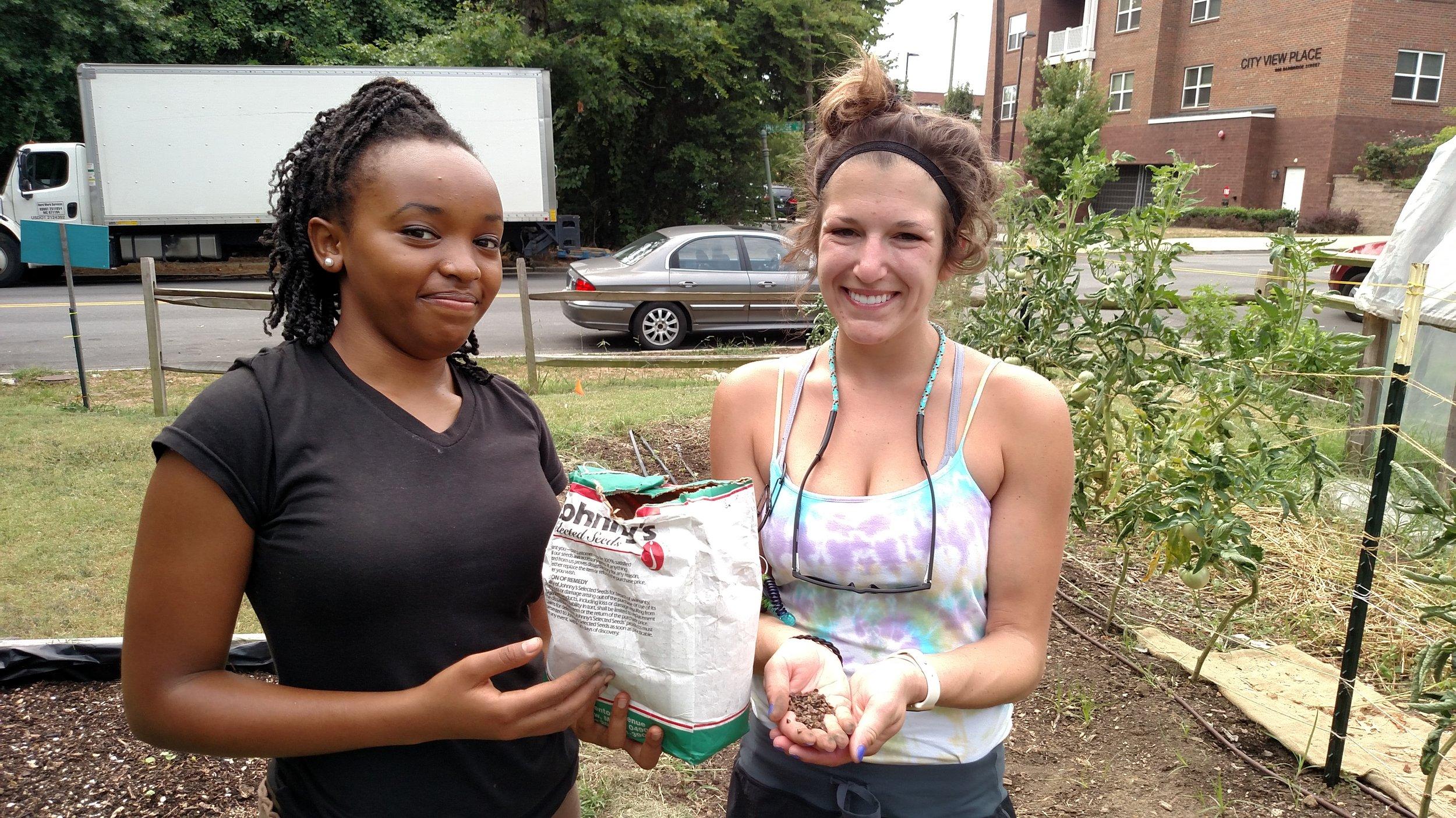 Tricycle Garden Volunteering