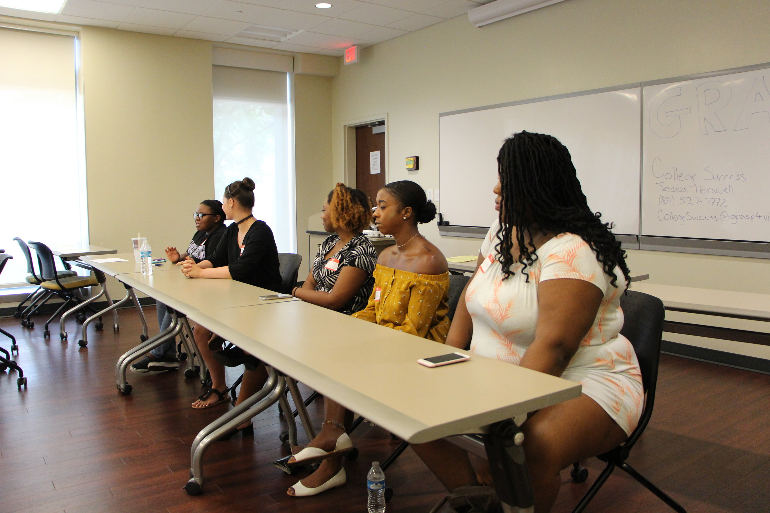 College Boot Camp Student Panel, 2017