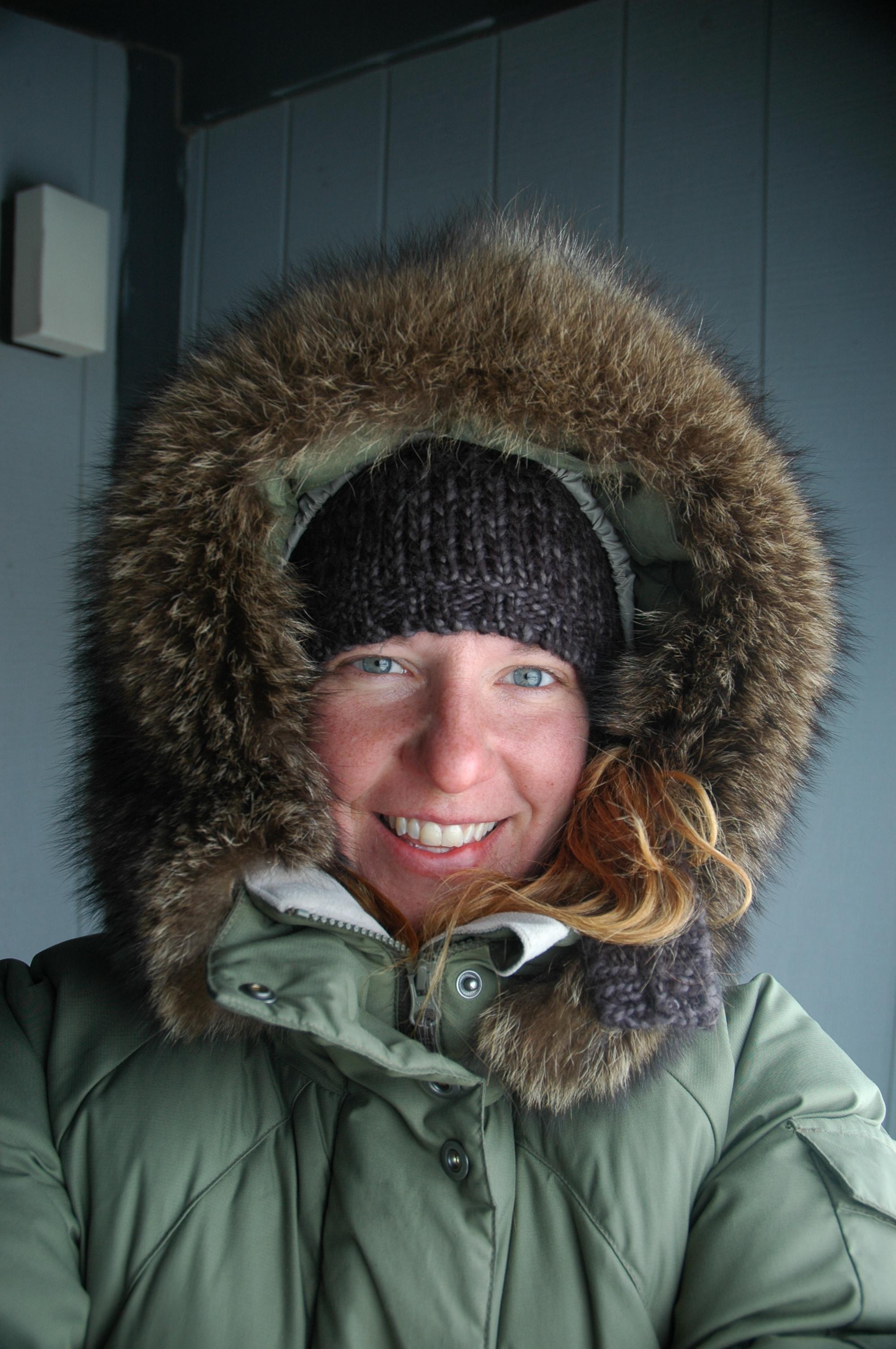 Tobi in Nunavut.JPG