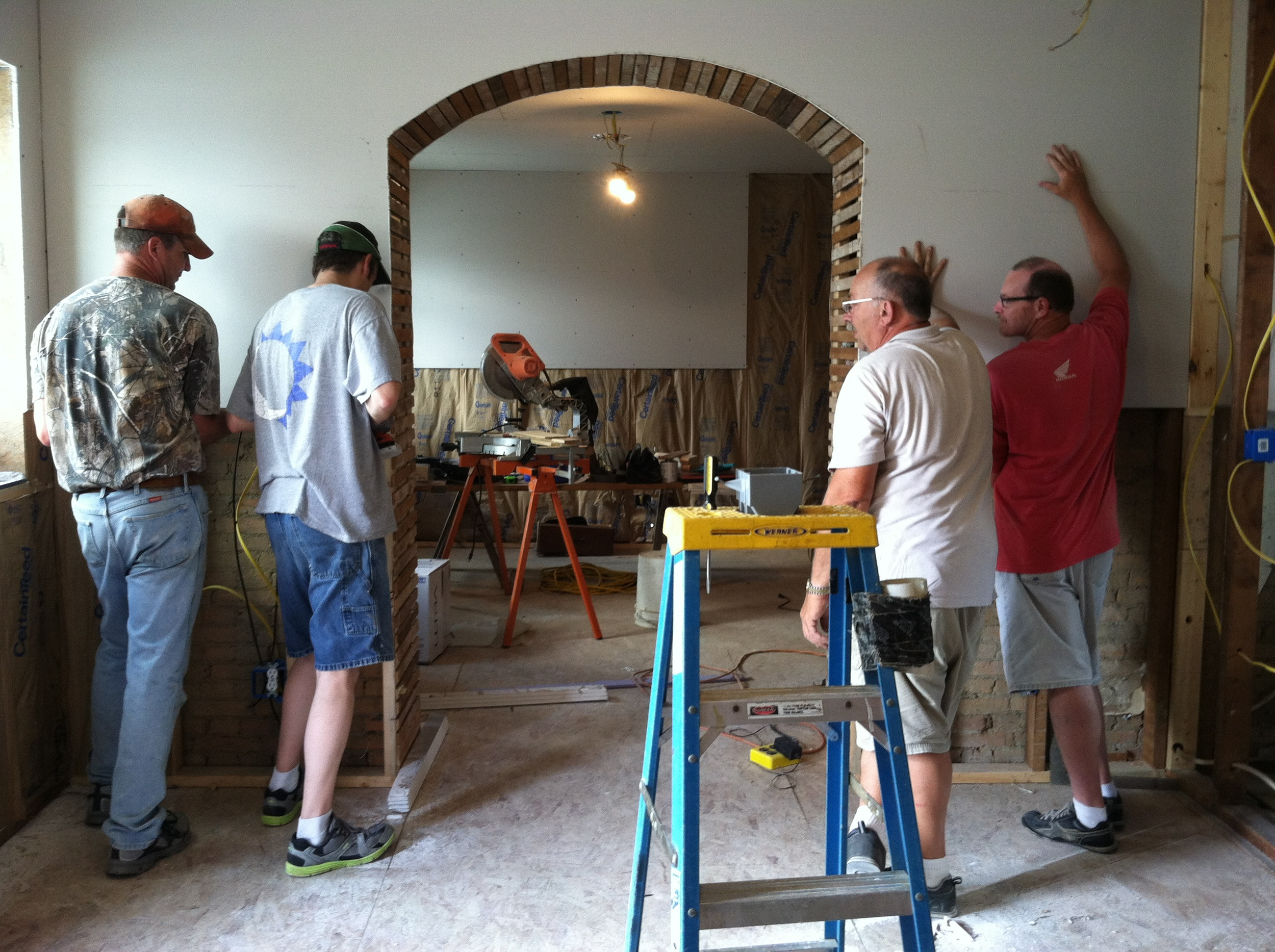 July 2013 - The Drywallers