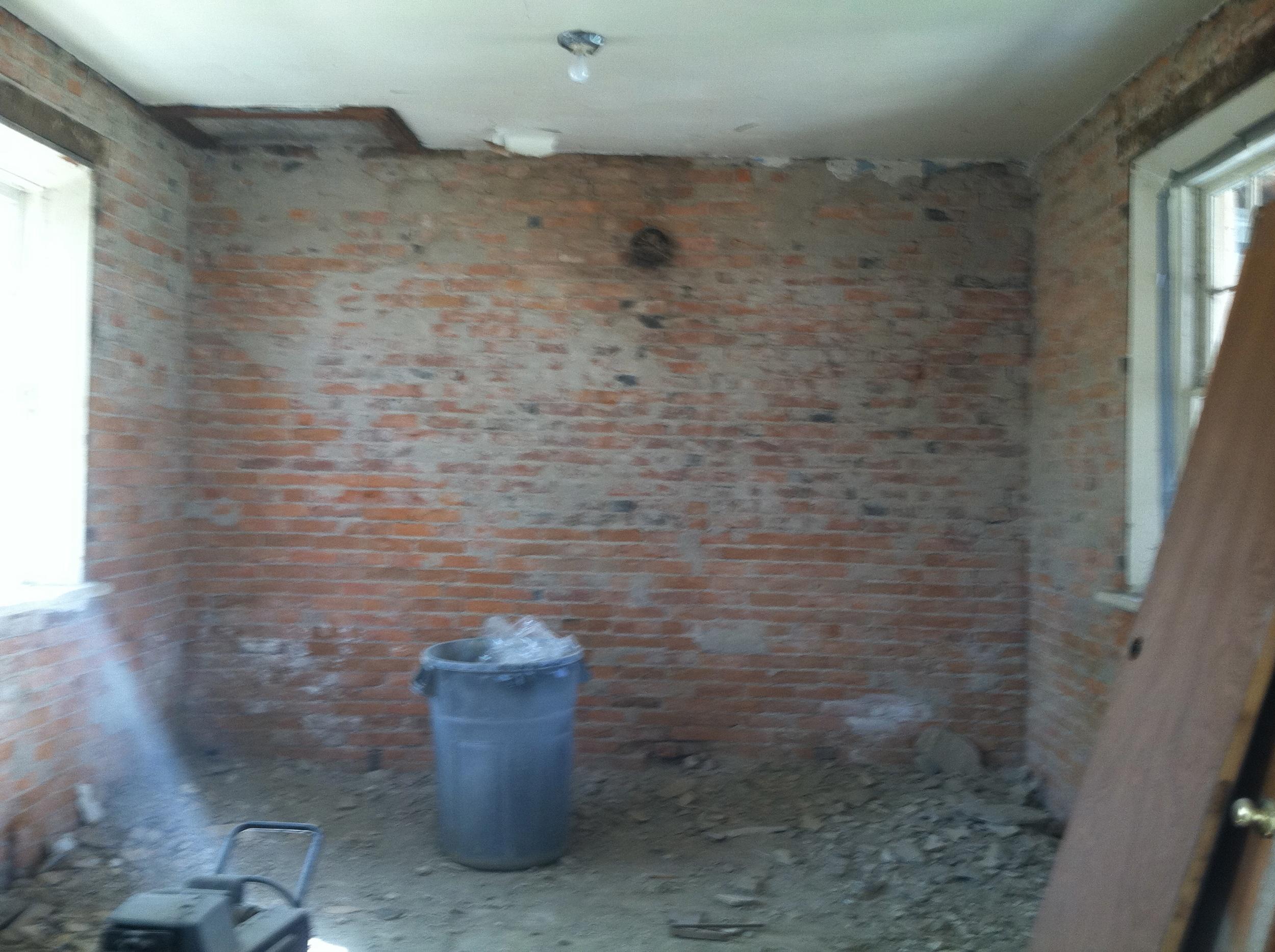 Brick Room Later