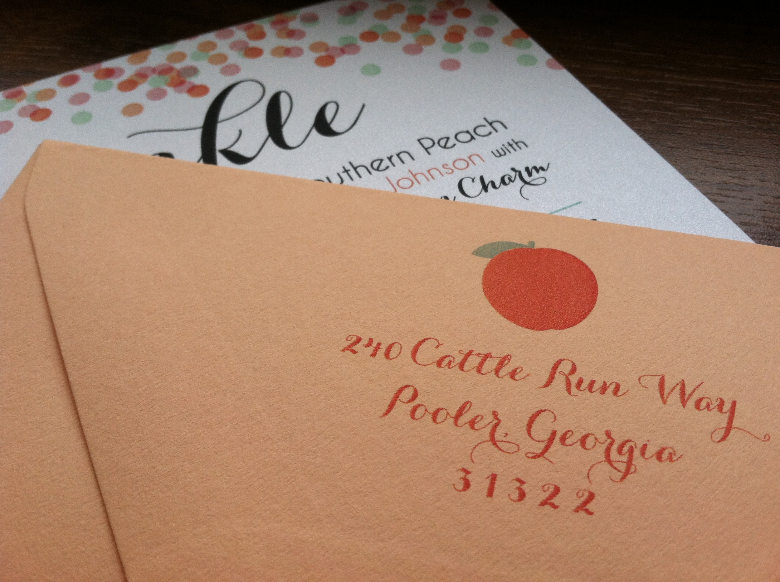 Love a matching envelope